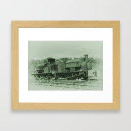 Rusting Tanks Framed Art Print