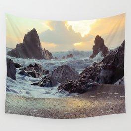 Crashing Waves II Wall Tapestry