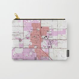 Vintage Map of Oxnard California (1949) Carry-All Pouch