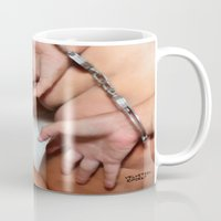 bdsm Mugs featuring funny painting bondage ass BDSM fetish Big dick cock suck oral sex pussy cunt transgender fuck  by Velveteen Rodent