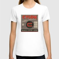 battlestar galactica T-shirts featuring Battlestar Galactica Vintage Matchbook Advertisement by Instant Classic