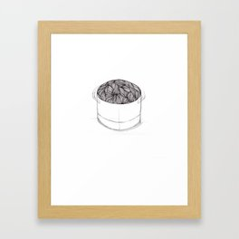 Brewing Framed Art Print