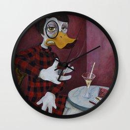 The Journalist / Sylvia vonQuack Wall Clock