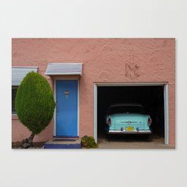 Motor Court Canvas Print