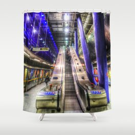 The Only Way Is Up Shower Curtain