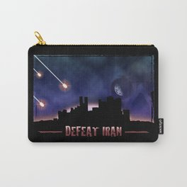Defeat Iran Carry-All Pouch