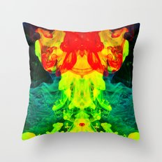 smoke on the water Throw Pillow