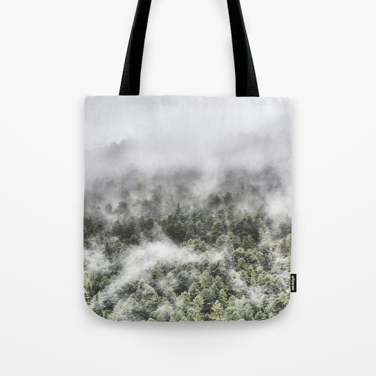 """Mountain light III"". Wildderness. Mountains Tote Bag"