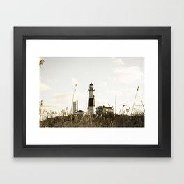 Montauk Lighthouse Framed Art Print