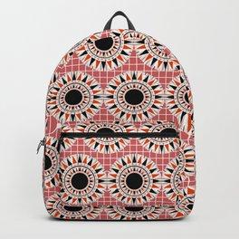 Black stars pattern Backpack