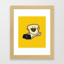 Dr Toast, On Call Framed Art Print