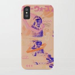 Phonon Delicatessen -Girl Looking iPhone Case