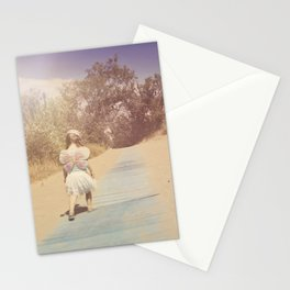 Blue Way Home Stationery Cards