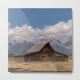 Moulton Barn Grand Teton National Park, Mormom Row Historic Area, Jackson Wyoming Photography Metal Print