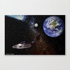 Star  Trecken Canvas Print