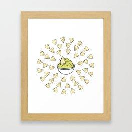 Chips'n'dip Framed Art Print