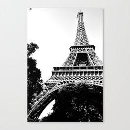 Tour Eiffel Paris  Canvas Print