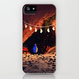 The Cave iPhone Case
