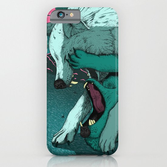 Ballad of the Wolf iPhone & iPod Case