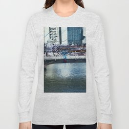 Light Bridge - Light Painting Long Sleeve T-shirt
