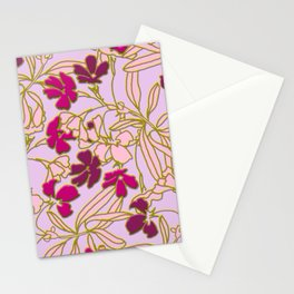 Jungle Dusk in Orchid Stationery Cards