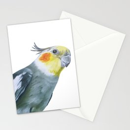Cockatiel Style - bird quote Stationery Cards