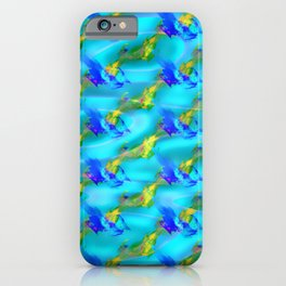 Jolly jumpers pattern iPhone Case