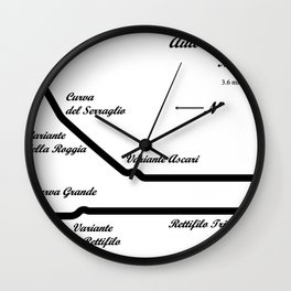 RennSport Shrine Series: Monza Wall Clock