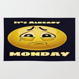 Monday Blues Rug