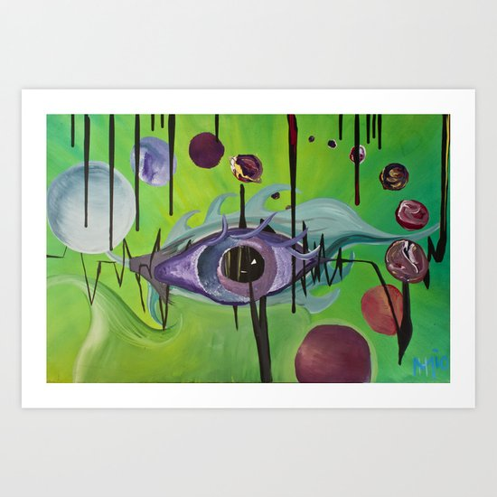 """Unified Vision Theory"" Art Print"