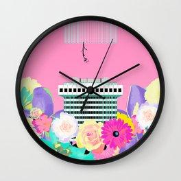CENTROFLOWERS #fridaysforfuture Wall Clock