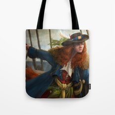 Pirate Queen Tote Bag