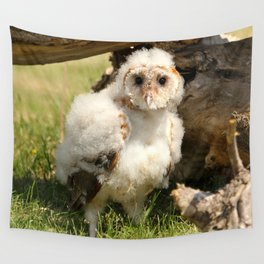 Cotton Owl Wall Tapestry