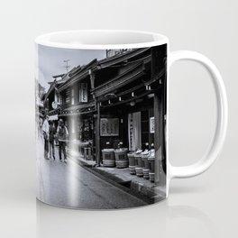 Old Japan Monochrome Coffee Mug