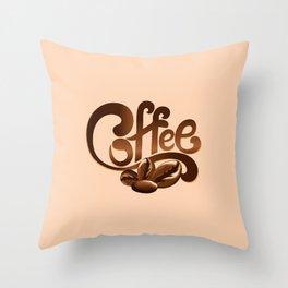 Design 608 - cofee Throw Pillow