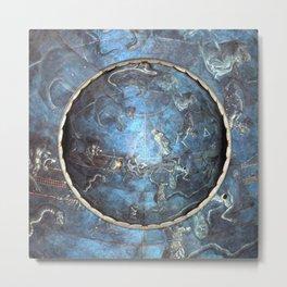 Giuliano Pesello's Celestial Hemisphere Metal Print