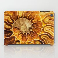 minerals iPad Cases featuring AMAZING AMMONITE by Catspaws