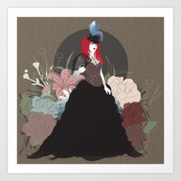 baroque Art Prints featuring Baroque by Nicole DeCaria