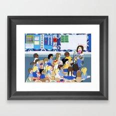 Kindergarten Framed Art Print