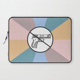 No Guns 2 Laptop Sleeve