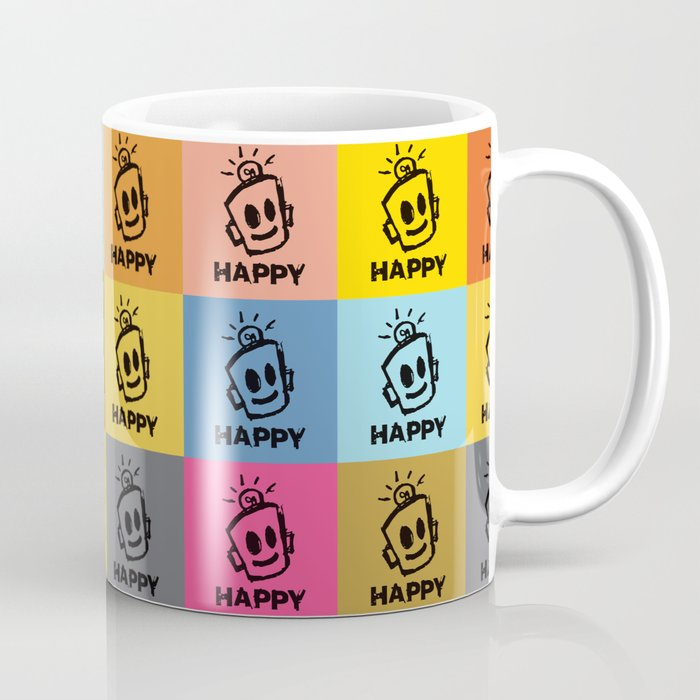 HAPPY SQUARES Coffee Mug
