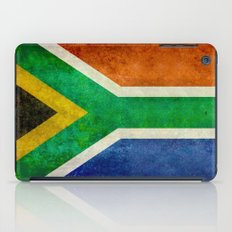 Flag of South Africa - retro style