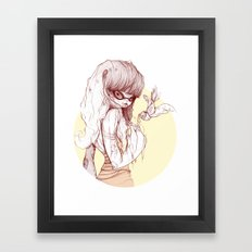 Pilar Framed Art Print
