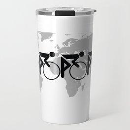 The Bicycle Race 3 Travel Mug