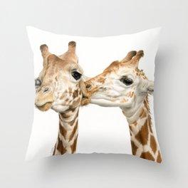 Smooches Throw Pillow