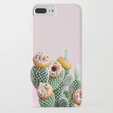 Donut Cactus In Bloom Slim Case iPhone 7 Plus