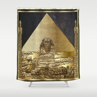 history Shower Curtains featuring History Framed. by Oeuvre