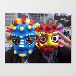 traditional mask  Canvas Print