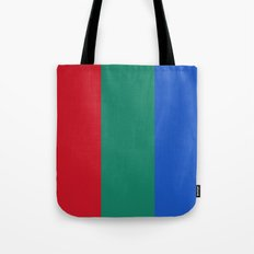 Flag of the planet Mars - Diff TEE version Tote Bag