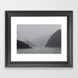 Alaska Fjord Framed Art Print